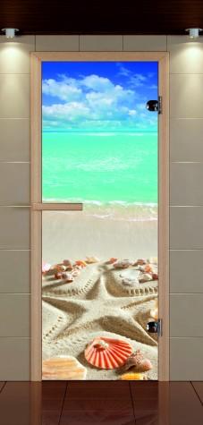 Каталог стеклянных дверей для бани и сауны с фотопечатью>