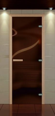 Стандартные двери для бани