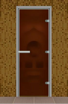 Дверь в парную без порога