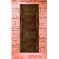 Дверь деревянная для бани серия ЛИНИЯ