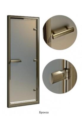 Покрытие в любой цвет RAL профиля, петель и ручки двери в турецкую баню