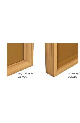 Комплектация двери в сауну нижним порогом