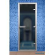 Дверь для турецкой бани ALDO 690*1990 мм, стекло серое