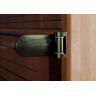 Дверь для сауны не стандарт стекло бронза сатинато (химтравление)