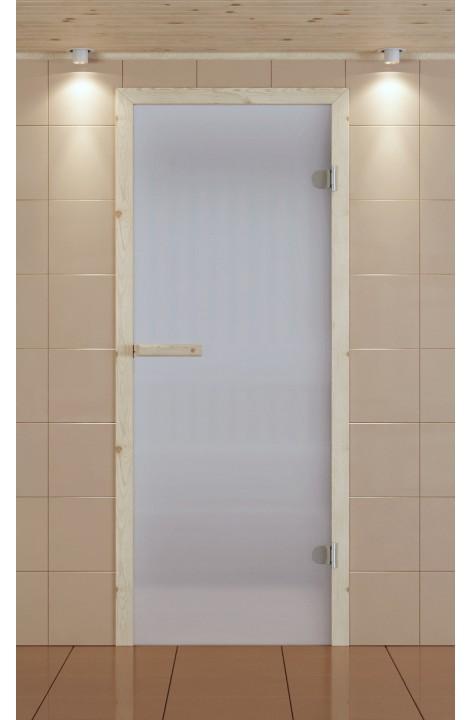 Дверь для сауны ALDO 690*2090 мм, стекло сатин
